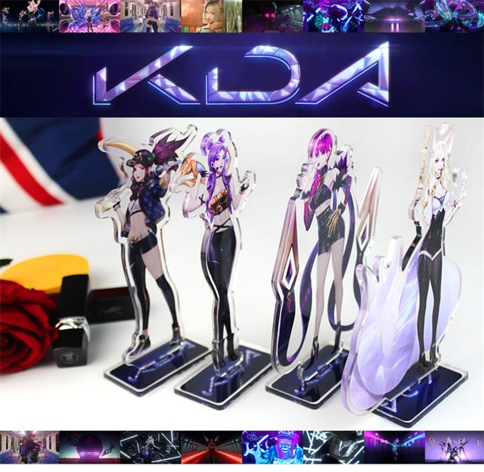 League Of Legend//LOL  KDA Figure//Acrylic stand